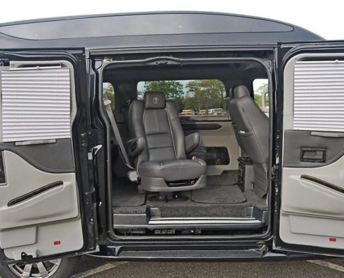 Mobility options in vans in Canada