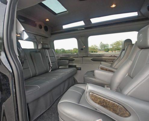 Open road luxury vans in Ontario