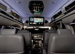 Many options available in luxury vans in Canada