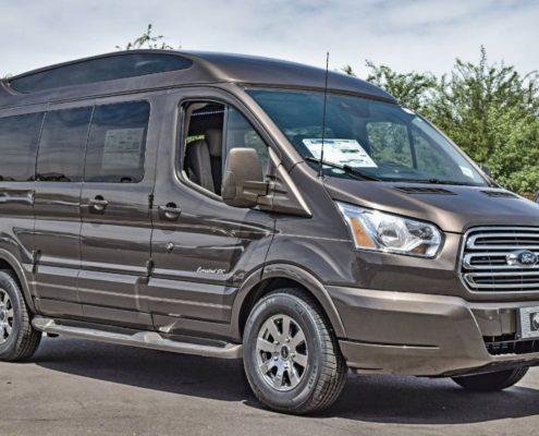 Luxury vans in Canada