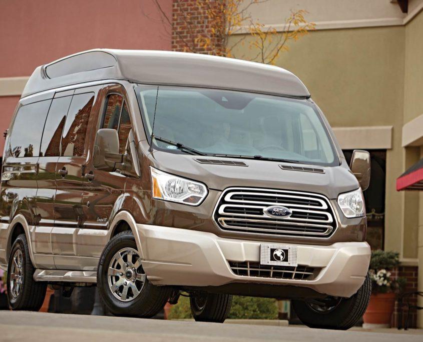 open road luxury vans